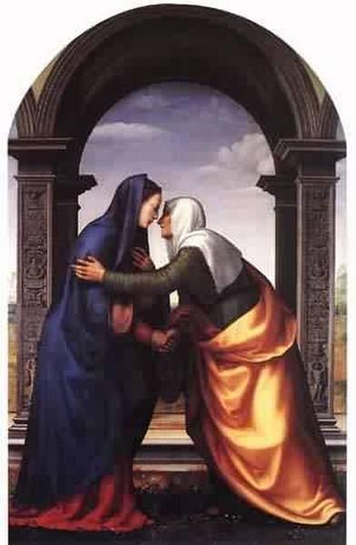 Visitation 1503 xx galleria degli uffizi florence